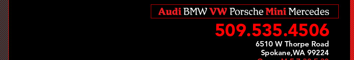 European Auto House - Washington -  Specializing in Audi, Bmw, VW,Mercedes Benz, Jaguar, and Mini Cooper in Spokane,wa